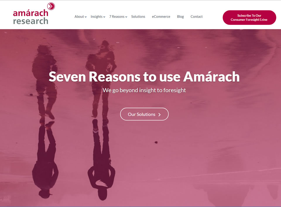 amarach research web design