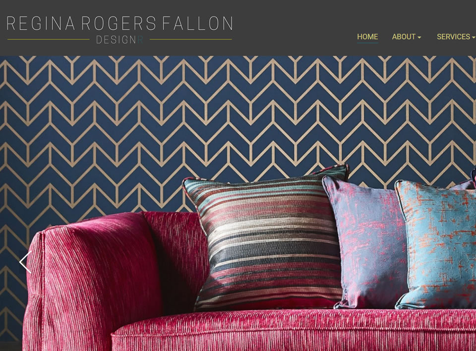 regina rogers fallon website design